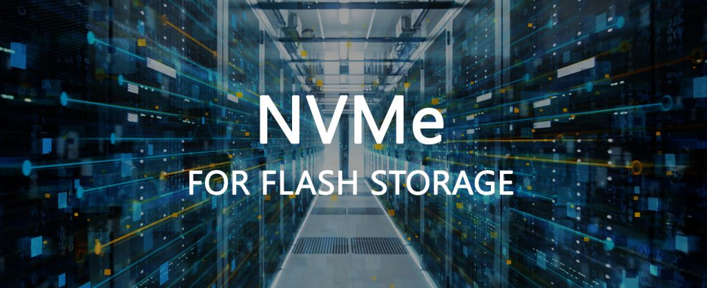NVMe for enterprise flash storage